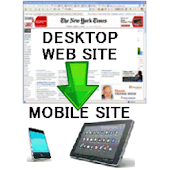 Mobile site generator+