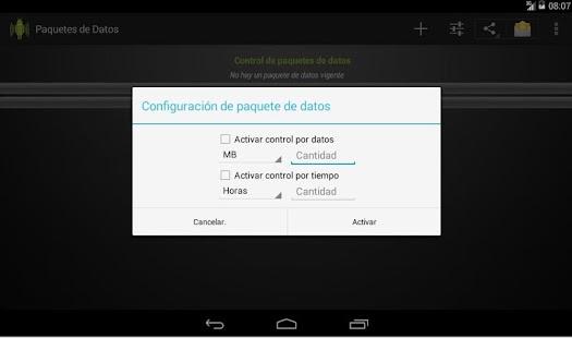 Packet Data screenshot