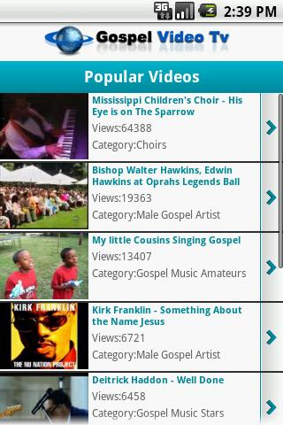 Gospel Video Tv - screenshot
