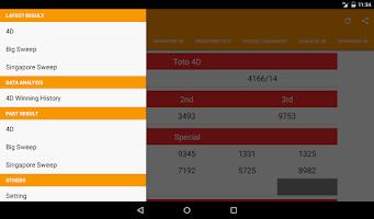 Screenshot of 4dCombo: Live 4D Result