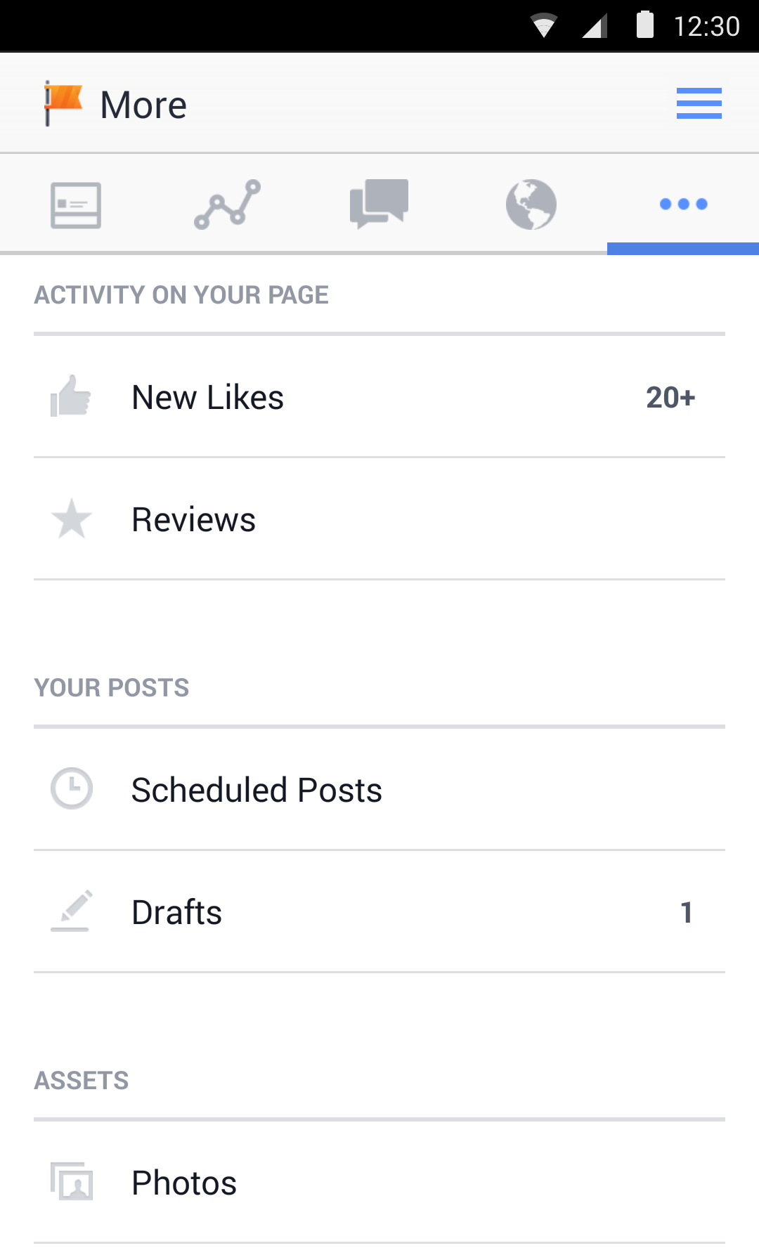 Facebook Pages Manager screenshot #5