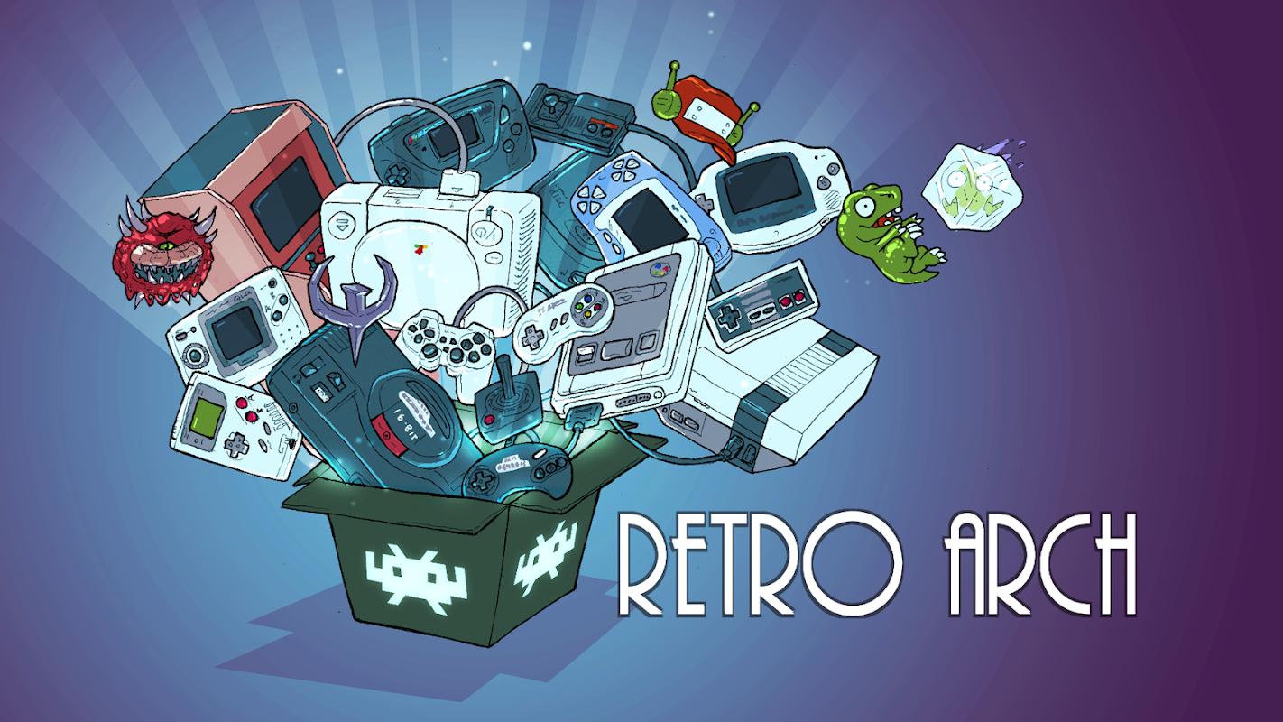 RetroArch screenshots