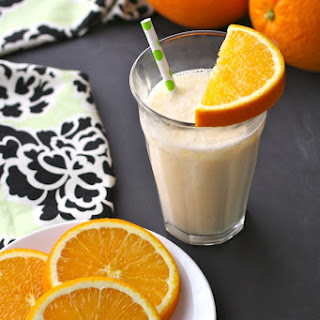 Fresh Orange Juice & Ginger Smoothies