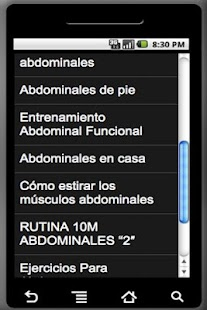 Abdominales - screenshot thumbnail