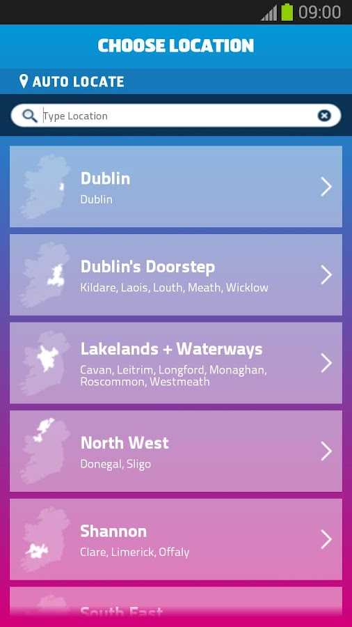 Discover Ireland Guide- screenshot
