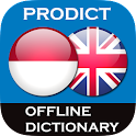 Indonesian-English dictionary icon