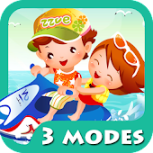 Kids Cartoon Puzzle [3 Modes]