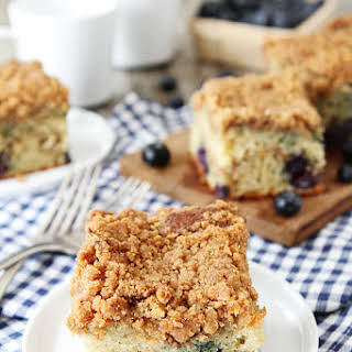 Blueberry Coffee Cake.