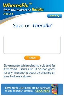 Theraflu® WheresFlu™ Mobile - screenshot thumbnail