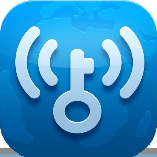 WiFi萬能鑰匙-免費暢連WiFi LOGO-APP點子