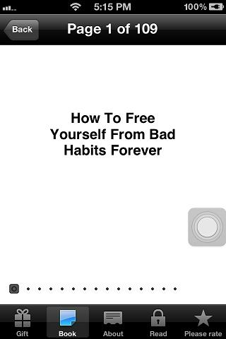How To Remove Bad Habits App - screenshot