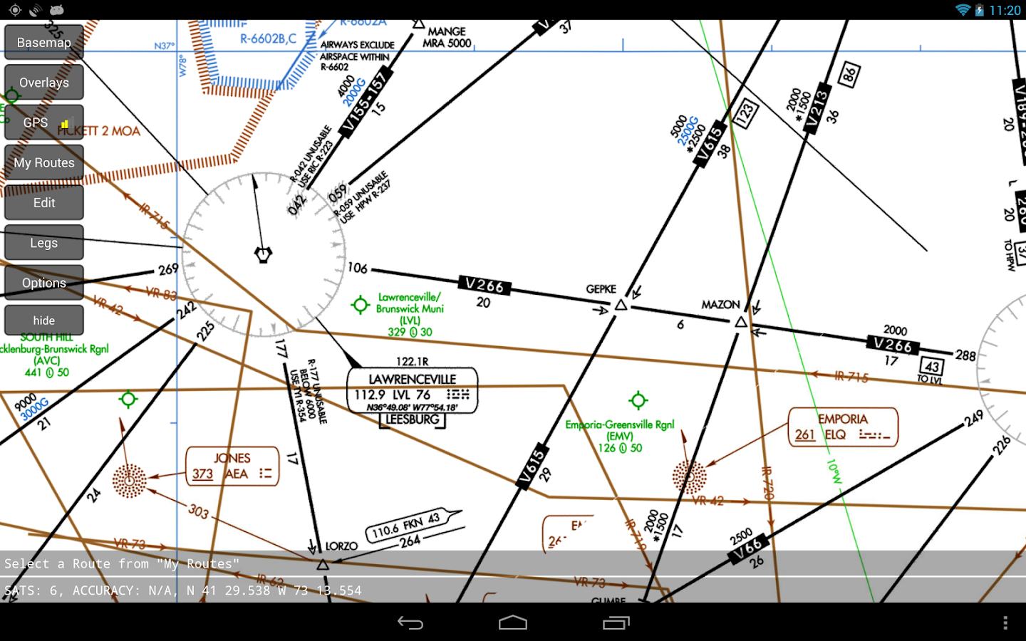 Flight Plan FltPlan.com Mobile - screenshot