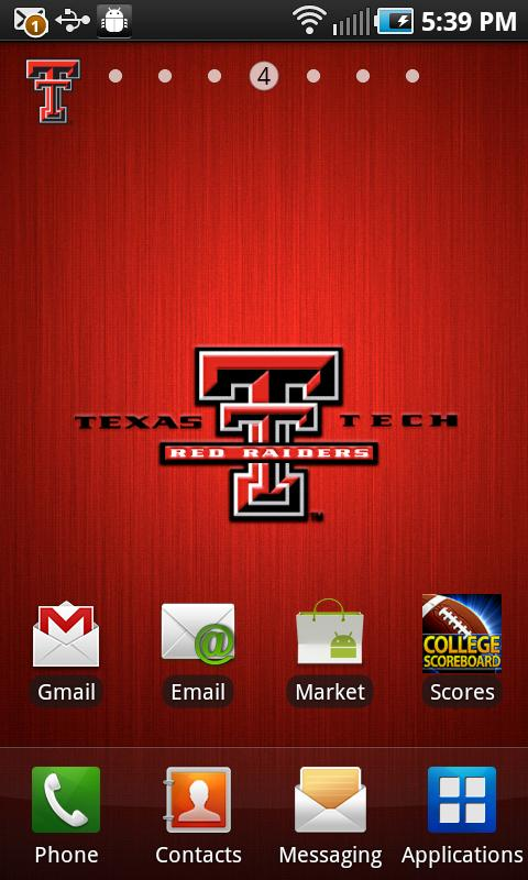 Texas Tech Revolving Wallpaper- screenshot