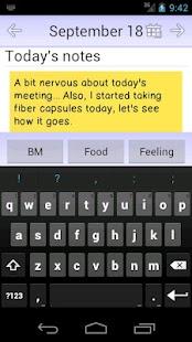 My IBS Diary- screenshot thumbnail
