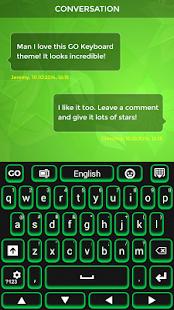 Green Keyboard - náhled