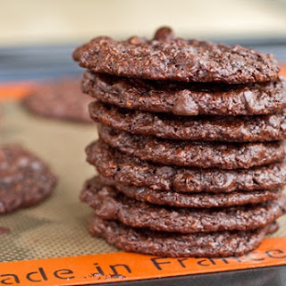 Flourless Chocolate Cookies (GF + Vegan)