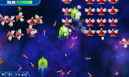 Chicken Invaders 3 - screenshot thumbnail