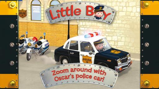 Oscar's police car