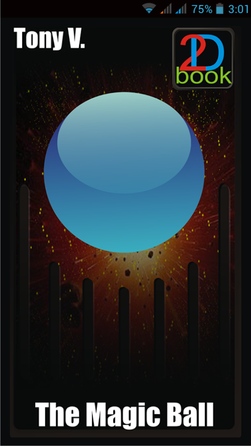 2D Book. The Magic Ball- screenshot
