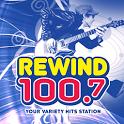 Rewind 100.7 icon