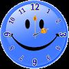 Souriant Horloge Analogique