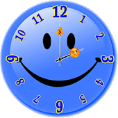 Smiley Analog Clock
