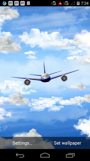 Flight in 3D Clouds