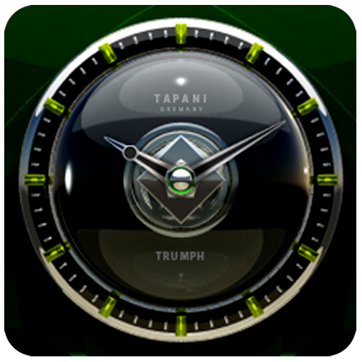 Trumph Designer Clock Widget