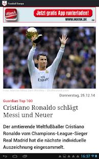 Fussball Europa- screenshot thumbnail