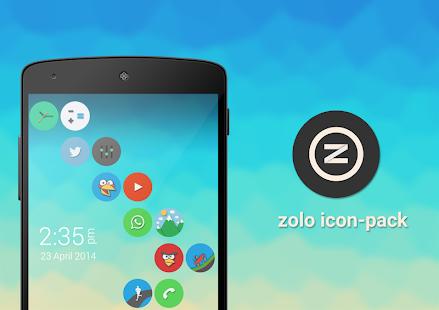 Zolo icon pack Screenshot