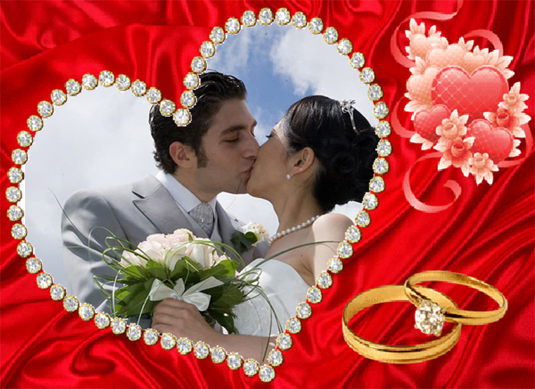 Heart Photo Frames helps you to apply beautiful love photo frames for ...