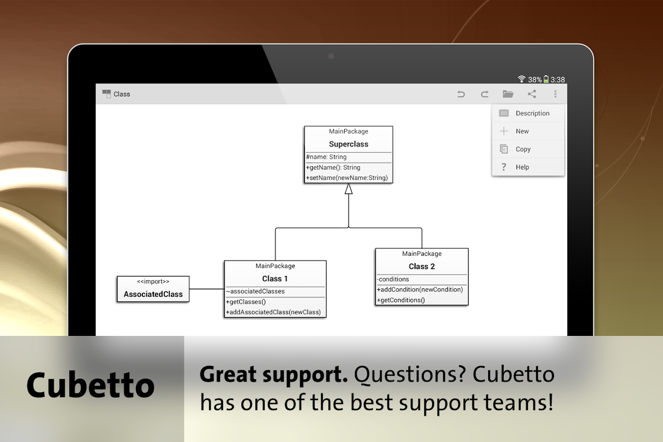 Cubetto - BPMN, UML, Flowchart- screenshot