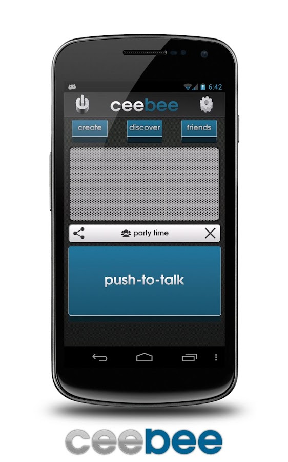 CeeBee - Walkie Talkie FREE- screenshot