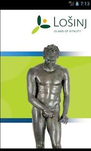 Lošinj - island of vitality – minijatura snimke zaslona