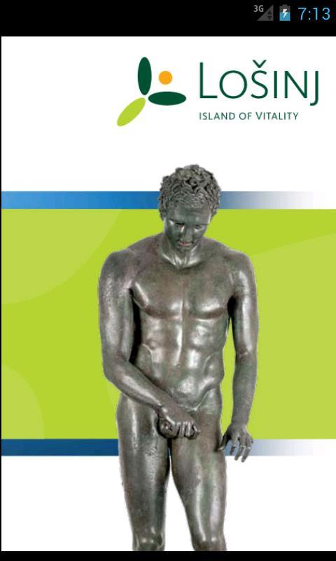 Lošinj - island of vitality – snimka zaslona