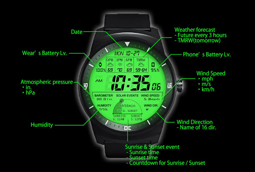 F03 WatchFace for LG G Watch R