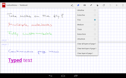 LectureNotes screenshot 1
