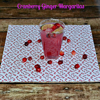 Cranberry Ginger Margaritas
