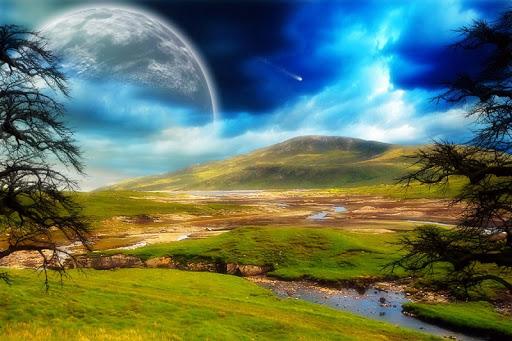 自然風景拼圖
