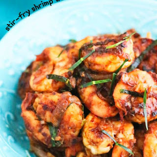 Stir-Fry Shrimp with Thai Roasted Chili Paste