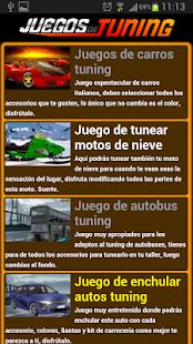 Juegos de tuning - screenshot thumbnail