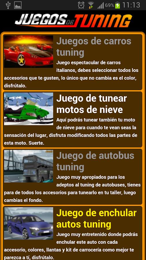 Juegos de tuning - screenshot