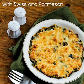 Easy Brussels Sprouts Gratin with Swiss and Parmesan