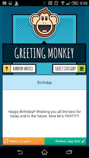 Greeting Monkey