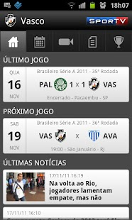 Vasco SporTV - screenshot thumbnail