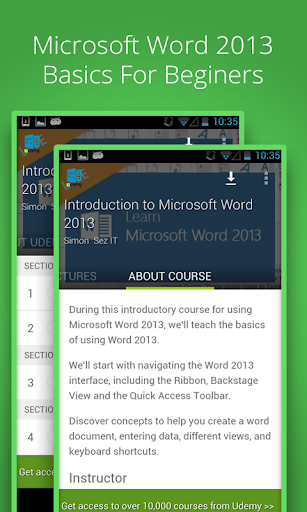 Learn Word 2013 Basic by Udemy