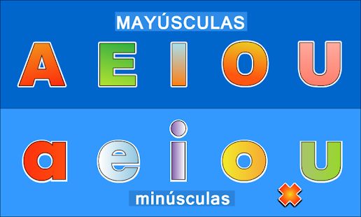 LEARN VOWELS IN SPANISH- screenshot thumbnail