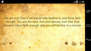Screenshot of Daily Vivekananda Quotes