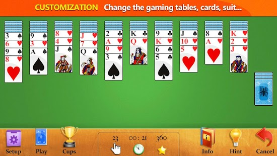 Easy Spider Solitaire- screenshot thumbnail