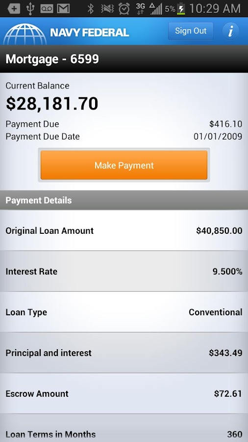 Navy Federal Credit Union - screenshot